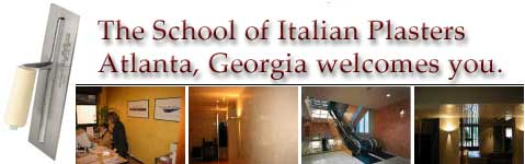 The School of Italian Plasters of Atlanta Georgia