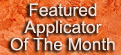 Featured Plaster Applicator of the Month